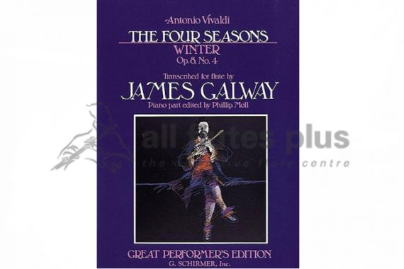 Vivaldi The Four Seasons-Winter for Flute and Piano-Edited by James Galway
