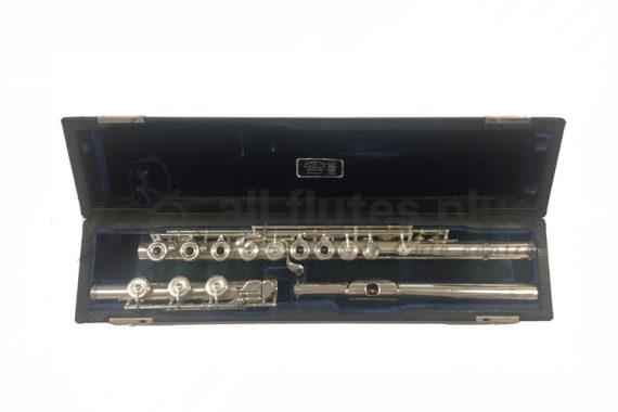 WM Haynes Handmade Silver Secondhand Flute-c8465
