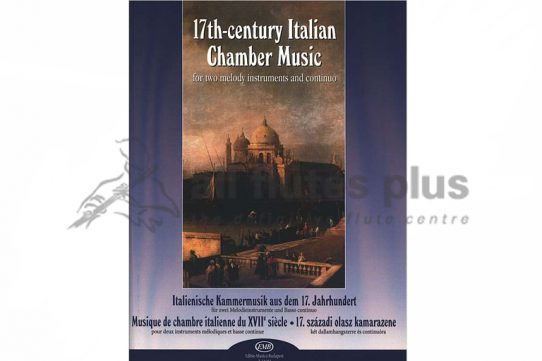 17th Century Italian Chamber Music-Edited by Janos Bali-EMB