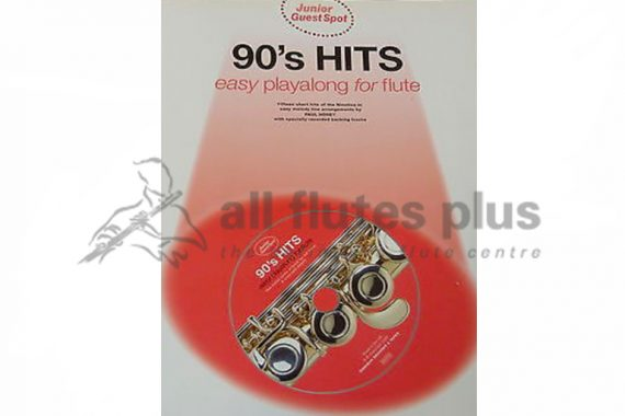 90's Hits Playalong Flute with CD-Junior Guest Spot