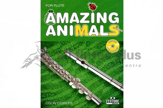 Amazing Animals Flute and CD-Fentone