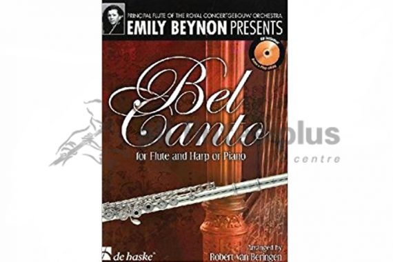 Bel Canto for Flute and Harp or Piano-De Haske