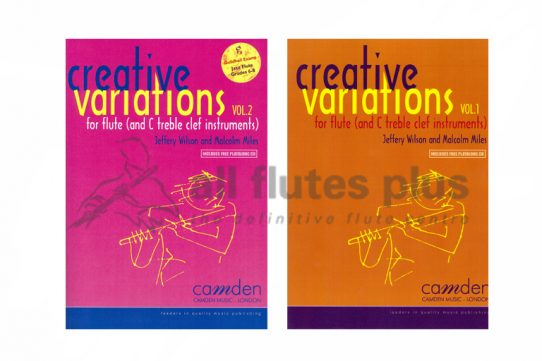 Creative Variations-Flute and Piano-Wilson/Miles-Camden Music