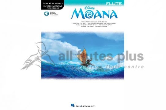 Disney Moana Playalong for Flute-Hal Leonard