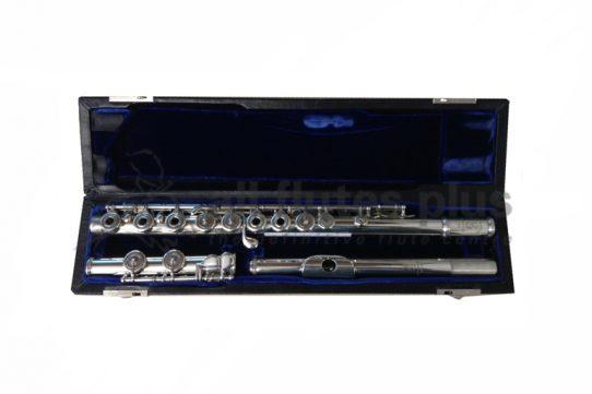 Emanuel Secondhand Handmade Silver Flute-c8453