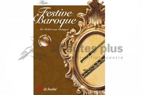 Festive Baroque Flute with CD-Robert van Beringen-De Haske