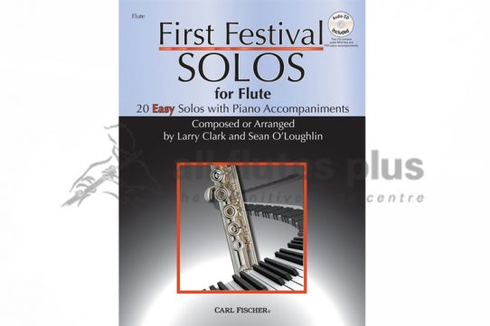 First Festival Solos-Flute and Piano with CD-Carl Fischer
