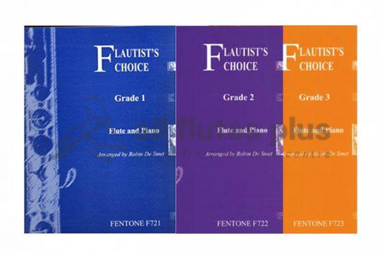 Flautist's Choice-Flute and Piano-Robin Smet-Fentone