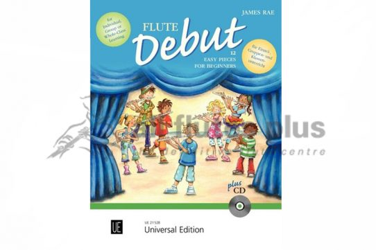 Flute Debut-James Rae-Flute and Piano with CD-Pupil's Book-Universal Edition