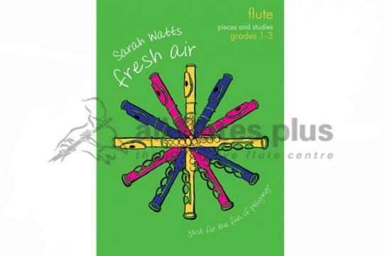 Fresh Air-Pieces and Studies Grades 1-3-Sarah Watts