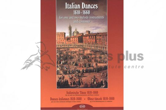Italian Dances 1610-1660-Edited by Janos Bali-EMB
