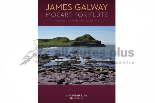 James Galway Mozart for the Flute-Flute and Piano-Schirmer