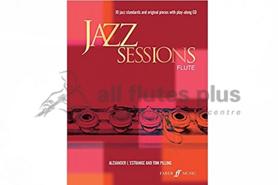Jazz Sessions Flute with CD Play-Along-Faber Music