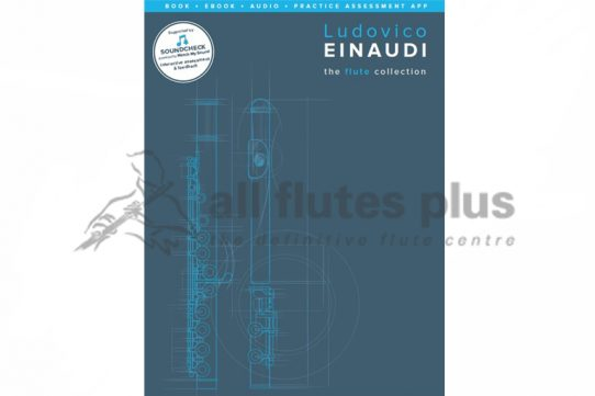 Ludovico Einaudi The Flute Collection-Book with Online Media Access