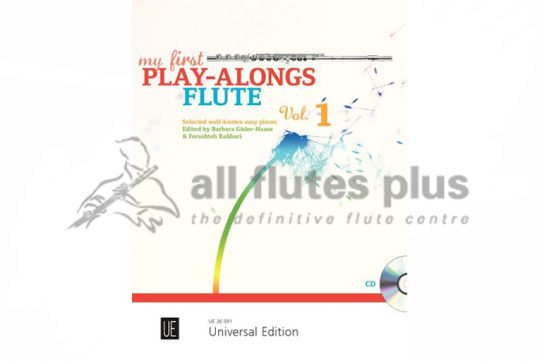 My First Play-Alongs Volume One-Flute and Piano with Playalong CD-Universal