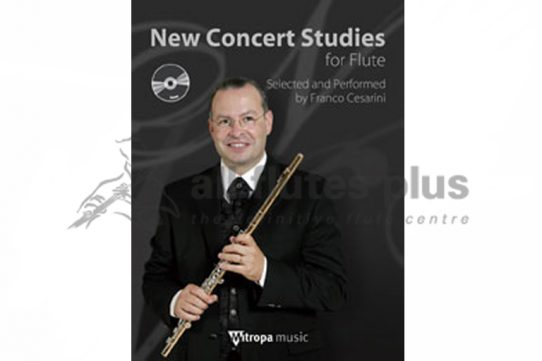 New Concert Studies for Flute with CD-Franco Cesarini