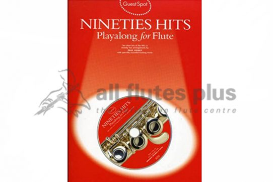 Nineties Hits Playalong Flute with CD-Guest Spot
