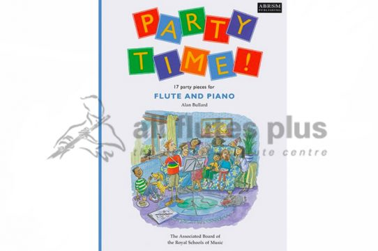 Party Time-17 Party Pieces for Flute and Piano-Alan Bullard