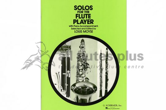 Solos For The Flute Player-Flute and Piano-Schirmer