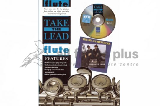 Take The Lead Flute-Blues Brothers-Book and CD-IMP