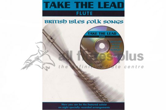 Take The Lead Flute-British Isles Folk Songs-Book and CD-IMP