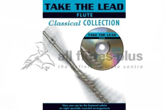 Take The Lead Flute-Classical Collection-Book and CD-Faber Music
