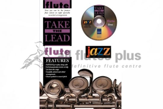 Take The Lead Flute-Jazz-Book and CD-IMP