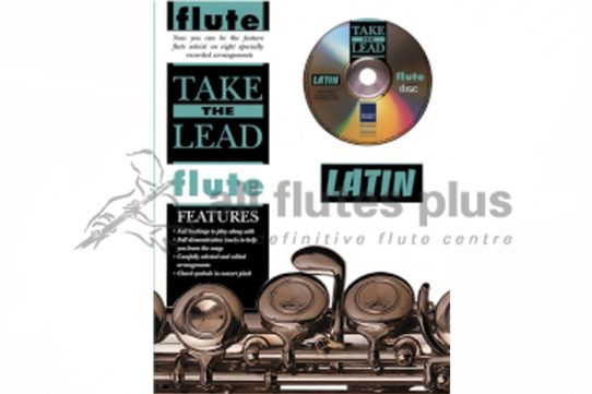 Take The Lead Flute-Latin-Book and CD-IMP