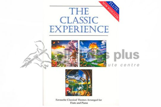The Classic Experience-Flute and Piano with CDs-Cramer Music