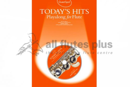 Today's Hits Playalong Flute with CD-Guest Spot
