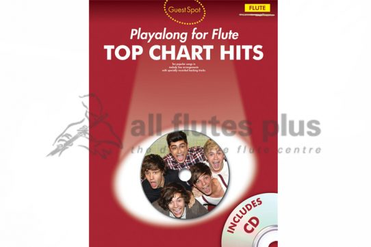 Top Chart Hits Playalong Flute with CD-Guest Spot