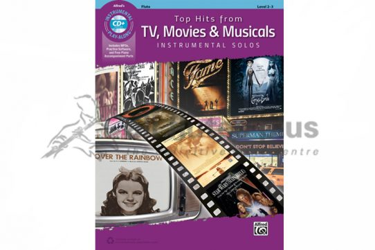 Top Hits from TV Movies and Musicals Instrumental Solos-Flute with CD