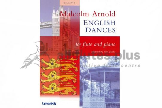 Arnold English Dances-Flute and Piano-Edited by Paul Harris-Lengnick