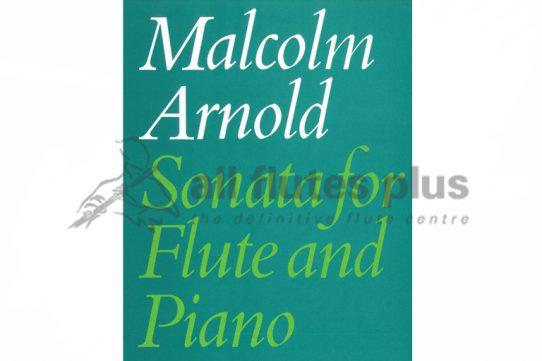 Arnold Sonata-Flute and Piano-Faber