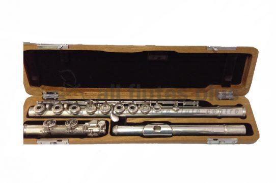 Bonneville Silver Inline Secondhand Flute-c8520
