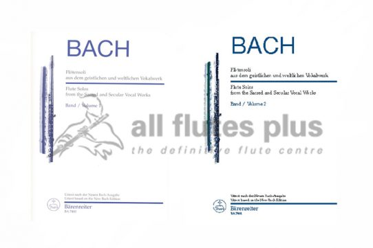 JS Bach-Flute Solos From Sacred and Secular Works-Barenreiter