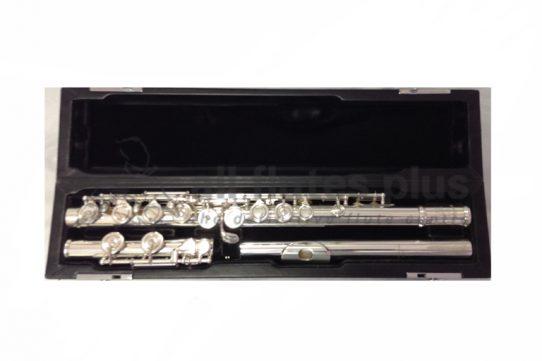 Miyazawa PA402E Secondhand Flute with 9K Riser-c8439