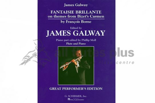 Borne Fantaisie Brillante-Flute and Piano-Edition Galway-Schirmer