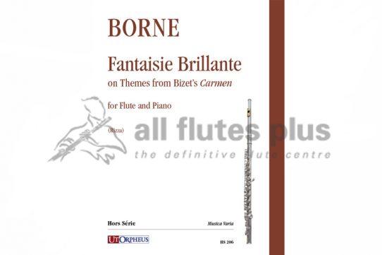 Borne Fantaisie Brillante-Flute and Piano-Edition Rizza-UtOrpheus