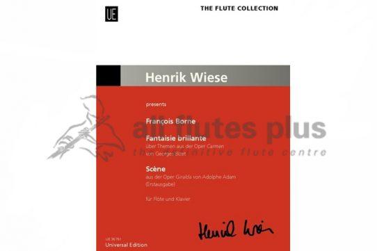 Borne Fantaisie Brillante-Flute and Piano-Henrik Wiese-Universal
