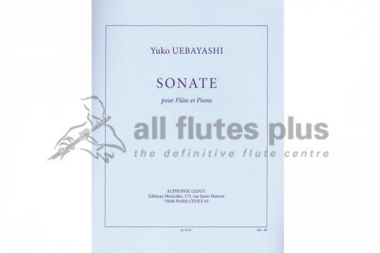 Uebayashi Sonata-Flute and Piano-Leduc