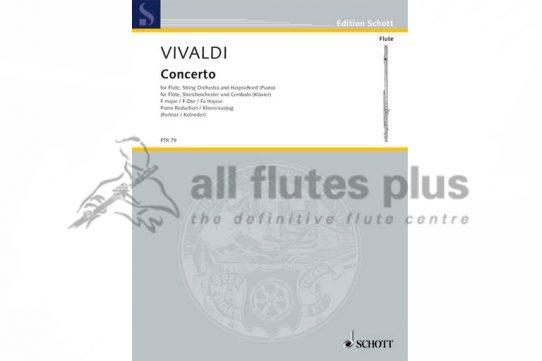 Vivaldi Concerto in F major No 1-La Tempesta Di Mare-Flute and Piano-Schott