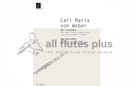 Weber Der Freischütz-The Marksman-Two flutes-Universal