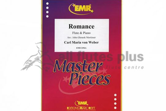 Weber Romance-Flute and Piano-Editions Marc Reift
