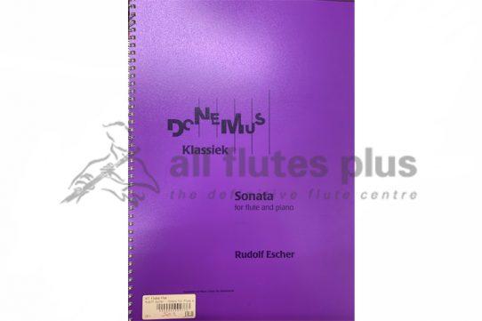 Escher Sonata-Flute and Piano-Donemus