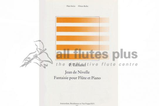 Taffanel Jean de Nivelle Fantaisie de Opera Delibes-Flute and Piano-Broekmans