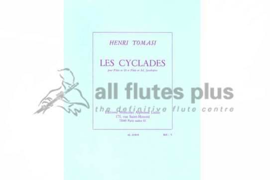 Tomasi Les Cyclades-Flute Solo-Leduc