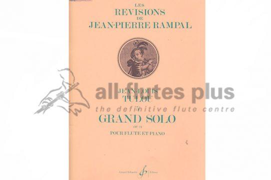 Tulou Grand Solo 5E Op 79-Flute and Piano-Billaudot
