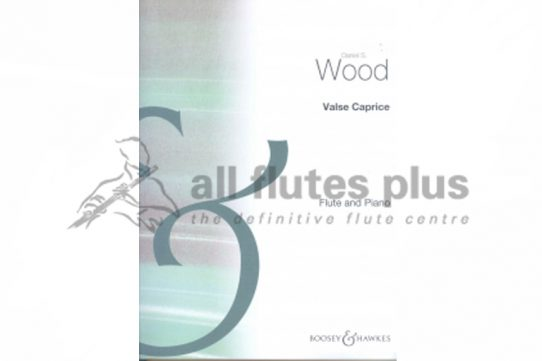 Wood Valse Caprice-Flute and Piano-Boosey and Hawkes