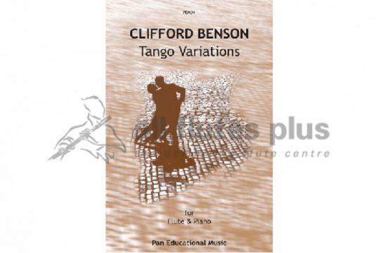 Benson Tango Variations-Flute and Piano-Pan